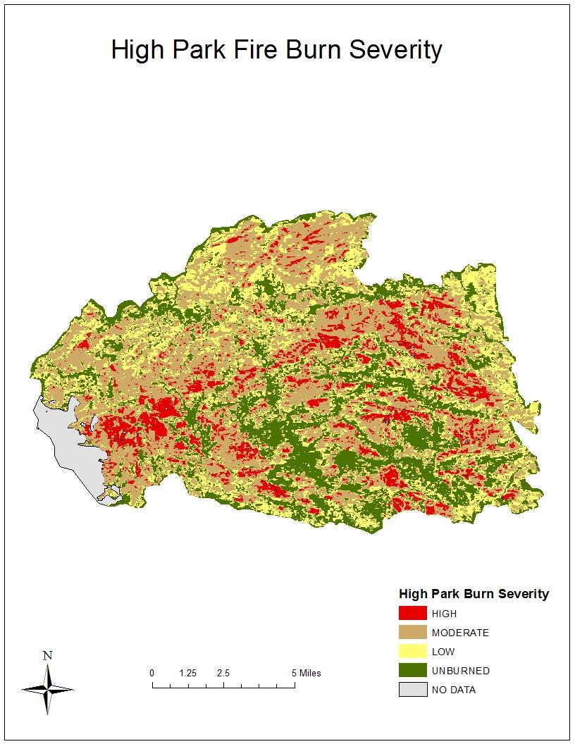 High Park Fire Map.Fire Project